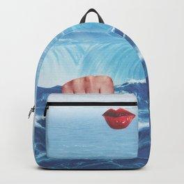 Red Lips IX Backpack