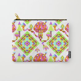Mycelium On My Ceiling by Erin Rosenthal Carry-All Pouch