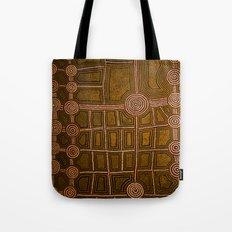 Aboriginal background Tote Bag