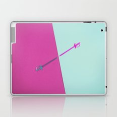 Magenta vs Cyan Laptop & iPad Skin