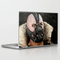 bane Laptop & iPad Skins featuring Bane by Spiroglyphyx