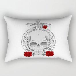 True, Death and Love Rectangular Pillow