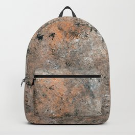 Black and Bronze Abstract Backpack