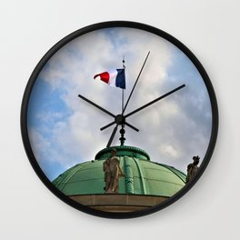 Vive la France Wall Clock
