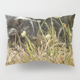 Release of a Young Skunk Pillow Sham