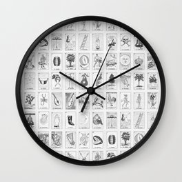 Loteria Cards Wall Clock