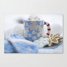 Hot chocolate Canvas Print