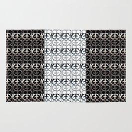 Pattern reversed Rug