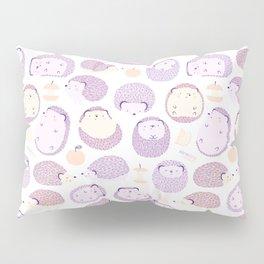 Happy Hedgies - Kawaii Hedgehog Doodle Pillow Sham