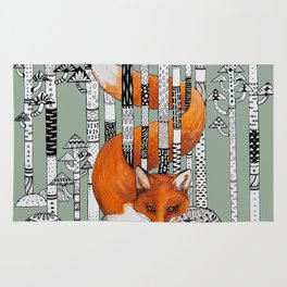 Fox Forest Rug