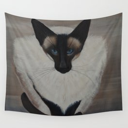 The Siamese Cat Wall Tapestry