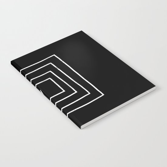 Square Arrow Notebook