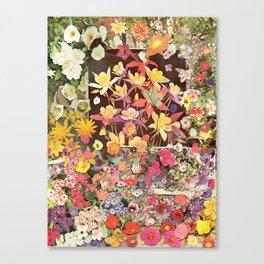 Flower Flower Flower Canvas Print