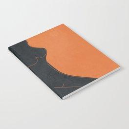 Abstract Nude II Notebook