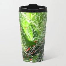 green explosion Metal Travel Mug