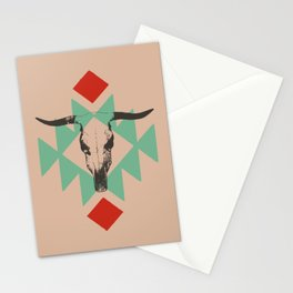 Southwest long horn Stationery Cards