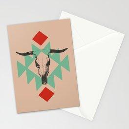 Southwest long horn Stationery Cards