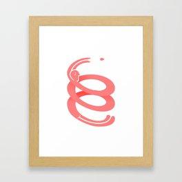 The Leader Framed Art Print