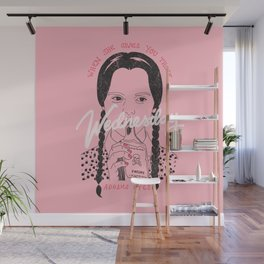 Wednesday Addams Eyes Wall Mural