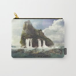 Tortuga Island Carry-All Pouch