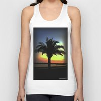 palm Tank Tops featuring Palm by Chris' Landscape Images & Designs