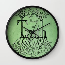 Root in Truth Wall Clock