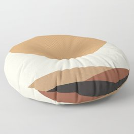 NUOVO GIORNO - the NEW DAY - Modern abstract art Floor Pillow