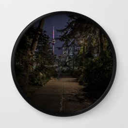 Toronto Paths Wall Clock