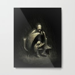 Two Wings and a Prayer Metal Print