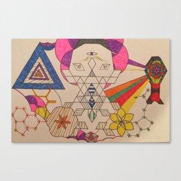 Fractal Entity Canvas Print