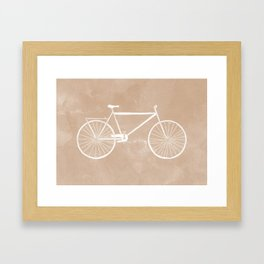 Bicyclette. Framed Art Print
