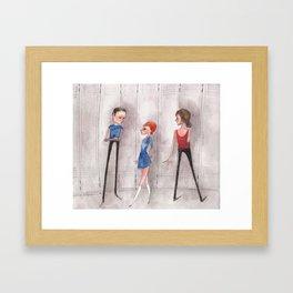 Kind of Friends Framed Art Print