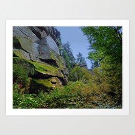 Mountain, granite rocks and pure nature | landscape photography Art Print
