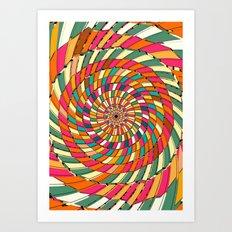 Delayed Art Print