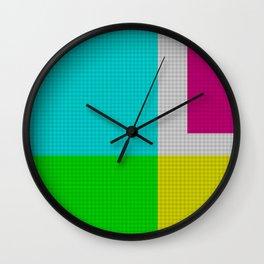RGB. Wall Clock