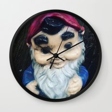 Steve the Gnome Wall Clock