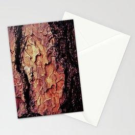 the tree bark Stationery Cards