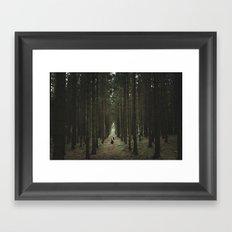 The Woods of St Olof Framed Art Print