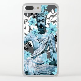 CHINA ANTIQUITIES YESTERDAY AND TODAY Clear iPhone Case