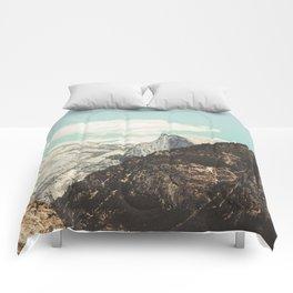 Half Dome Peek Comforters