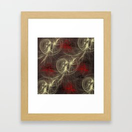 abstract colored background Framed Art Print