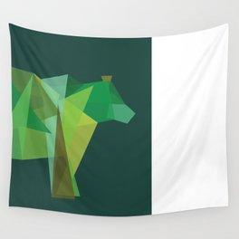 Grizzly Wall Tapestry