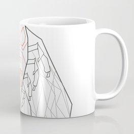 Dark side of the bug /digital art drawing Coffee Mug