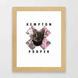kp Framed Art Print