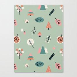 Scandinavian Summer Forest 1 Canvas Print