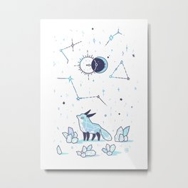 Arctic Nights Metal Print