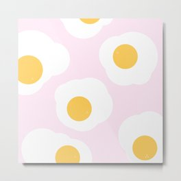 Eggy Metal Print