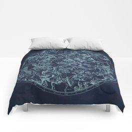 Vintage Constellation & Astrological Signs Comforters