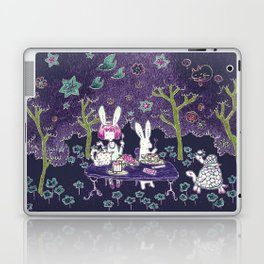 Tea Party in the Curious Forest Laptop & iPad Skin