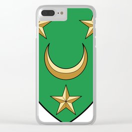 Coat Of Arms Of Algeria_Country_History_(1830-1962) Clear iPhone Case